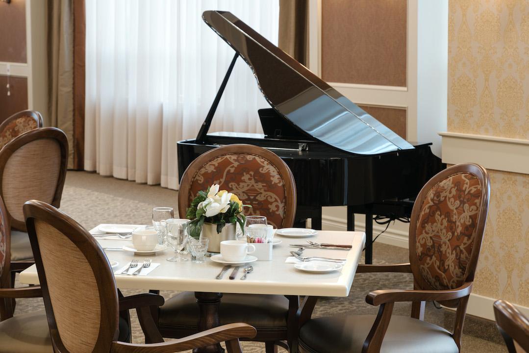main dining room piano all seniors care