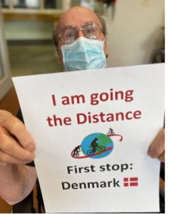 I am going the distance