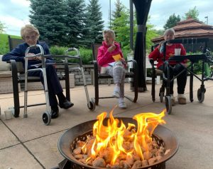 bonfire summer camp